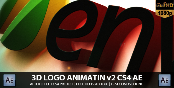 After Effects Project - VideoHive 3D Logo Animation v2 178767