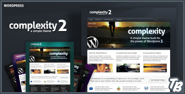 Complexity Premium WordPress Theme - Business Corporate