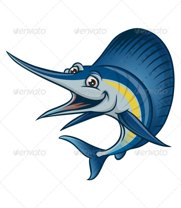 GraphicRiver blue marlin 179126