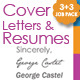 JOB PACK: 3 Resumes with their Cover Letters - GraphicRiver Item for Sale