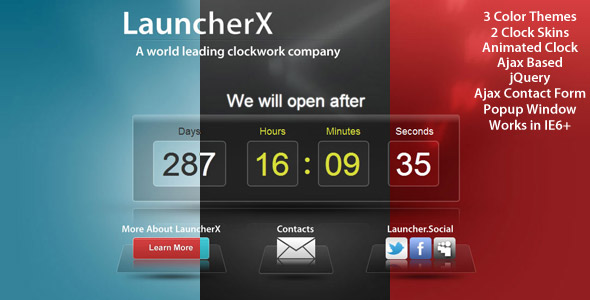 LauncherX - Countdown Template