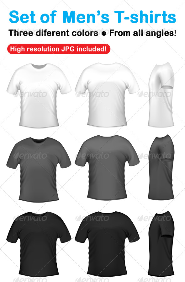 GraphicRiver Men s t-shits collection 179484