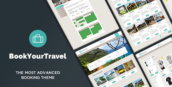 Book Your Travel v7.04 – Online Booking WordPress Theme