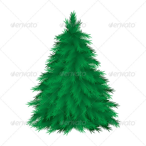 Graphic River Cconiferous tree Vectors -  Characters 1521994