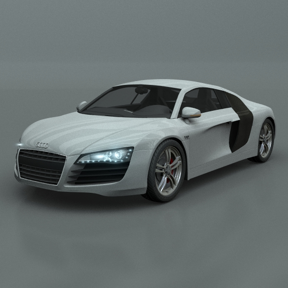 Audi R8 - Rigged and ready for animation