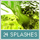 24 Isolated Splashes - GraphicRiver Item for Sale