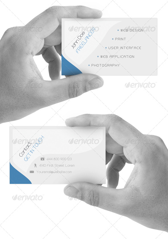 GraphicRiver Deep Simplicity Card v1.0 180691