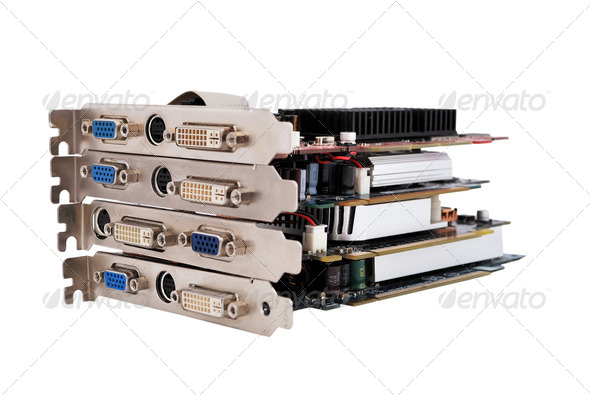 video cards - Stock Photo - Images
