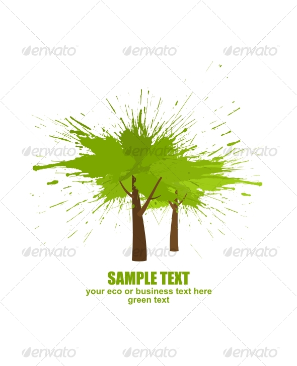 Tree concept - Backgrounds Decorative