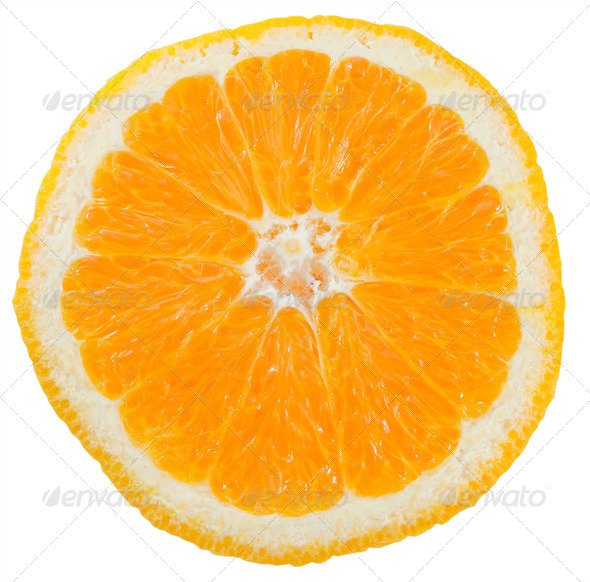Orange slice - Stock Photo - Images