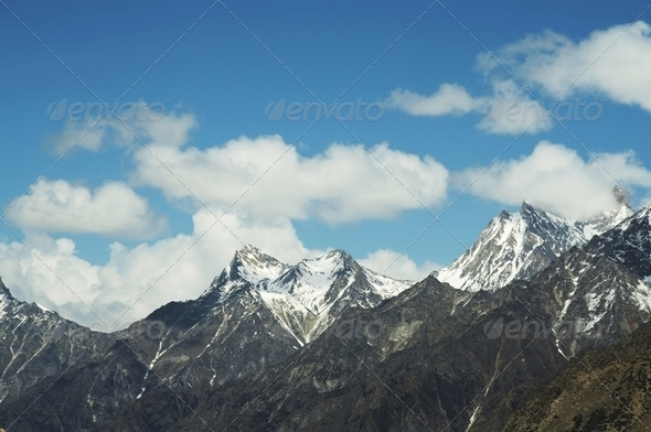 Himalayan mountain - Stock Photo - Images