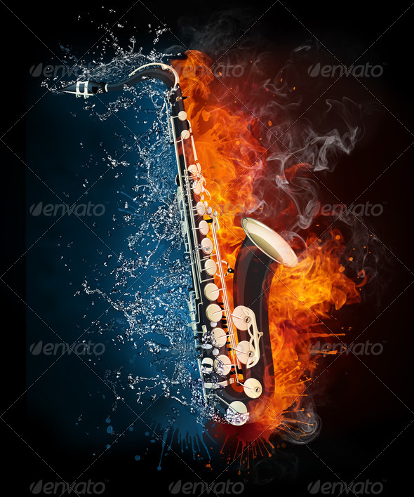 Saxophone - Stock Photo - Images