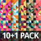 10+1 Vector Backgrounds Pack - GraphicRiver Item for Sale