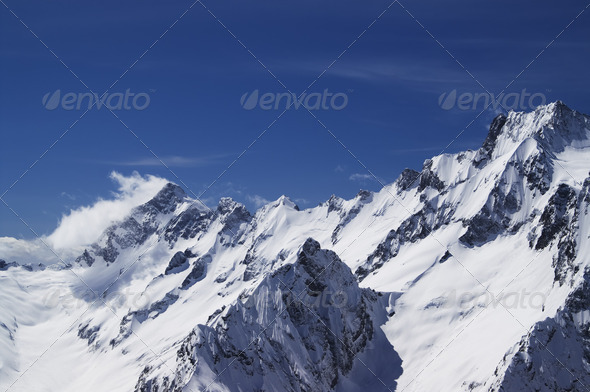 Mountain Peaks - Stock Photo - Images