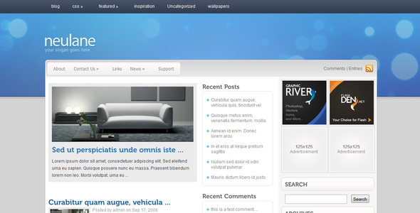 neulane wordpress theme download