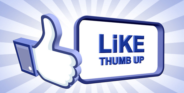 VideoHive Like Thumb Up 1541049