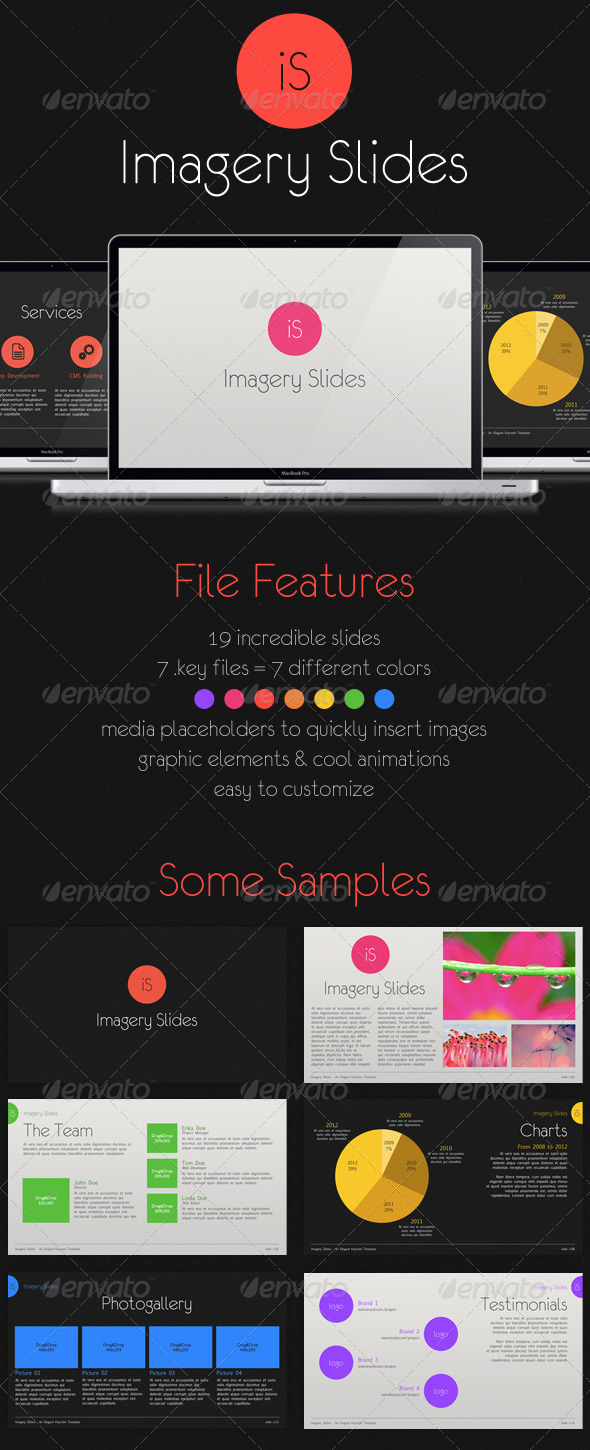 GraphicRiver Imagery Keynote Photography Template Full HD 1541695