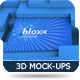 Mock-up 3D Bloxx - GraphicRiver Item for Sale