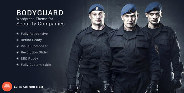 Bodyguard Security And Cctv Wp Theme By Mymoun Themeforest