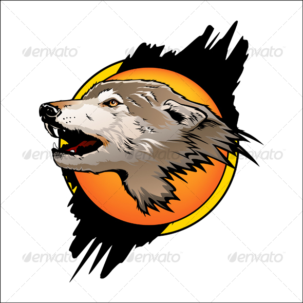 GraphicRiver Wolf color 60989