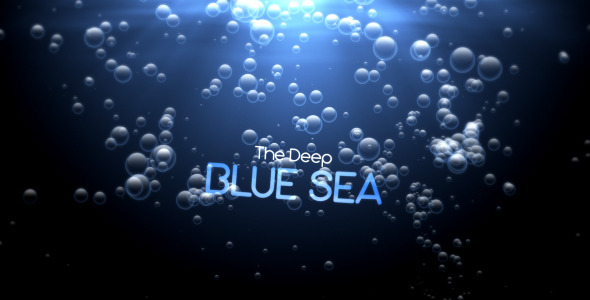 VideoHive The Deep Blue Sea 1545420