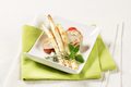 White asparagus and chicken breast - PhotoDune Item for Sale