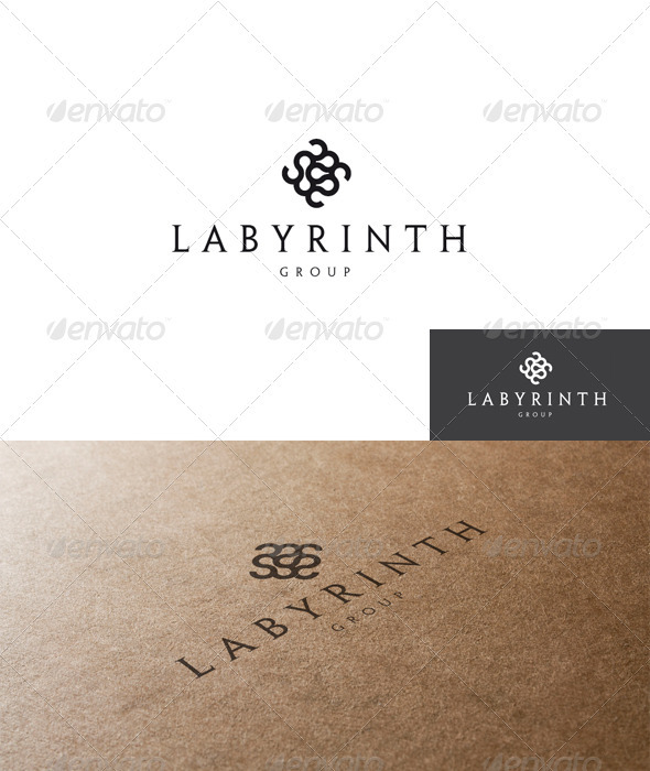 GraphicRiver Abstract and Labyrinth Logo 1547939