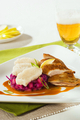 Roast Duck, Red Cabbage and Dumplings - PhotoDune Item for Sale