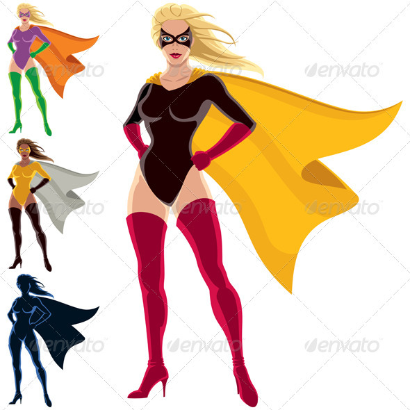 Superhero - Female - People Characters