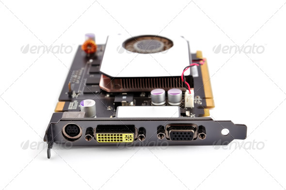 video card - Stock Photo - Images
