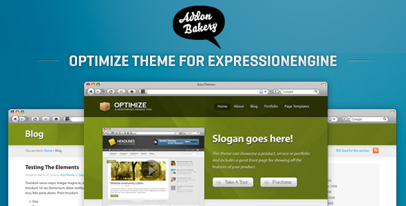 Optimize - Business EE Theme