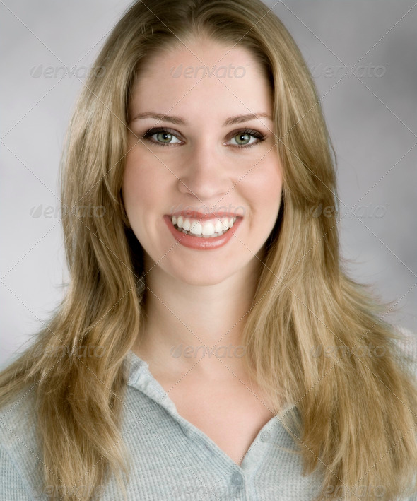 Happy woman - Stock Photo - Images