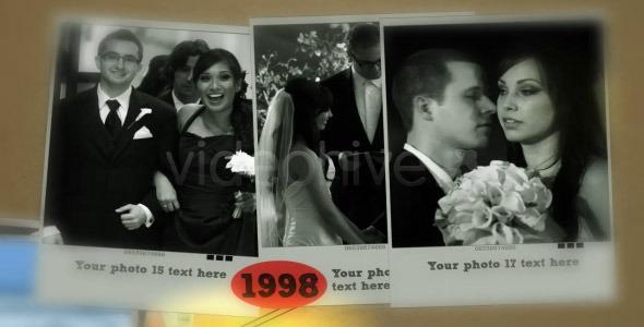 VideoHive My History Slideshow 1556828