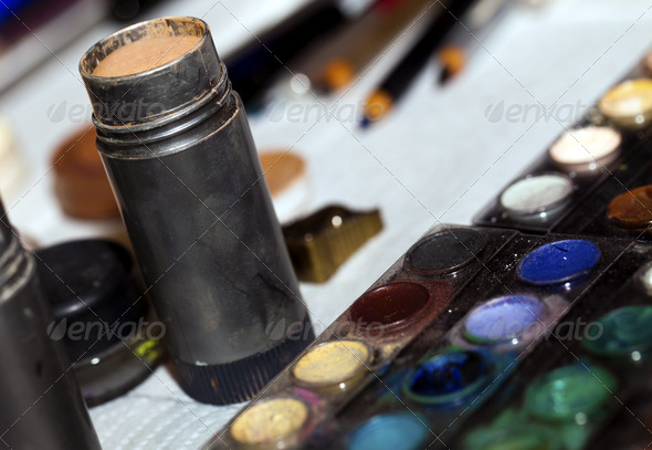 Make up Paint - Stock Photo - Images