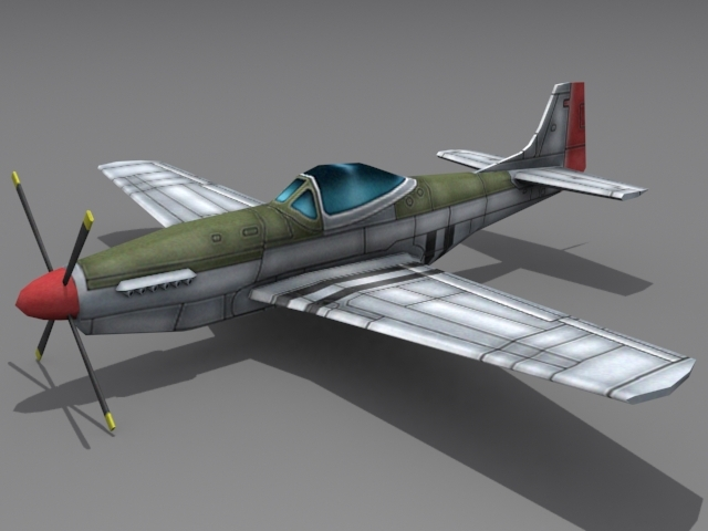 3DOcean P-51 Mustang 1560111