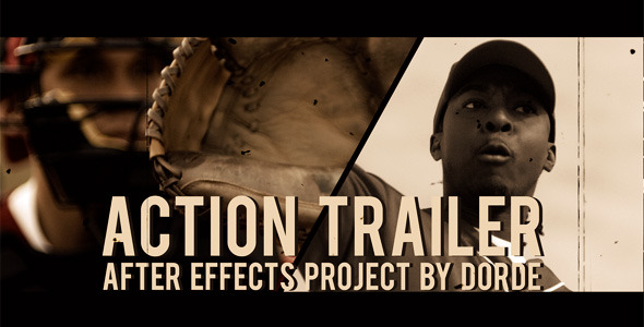 After Effects Project - VideoHive Action Trailer 1561640