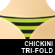 Chickini Trifold - GraphicRiver Item for Sale