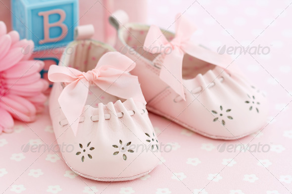 Baby shoes - Stock Photo - Images
