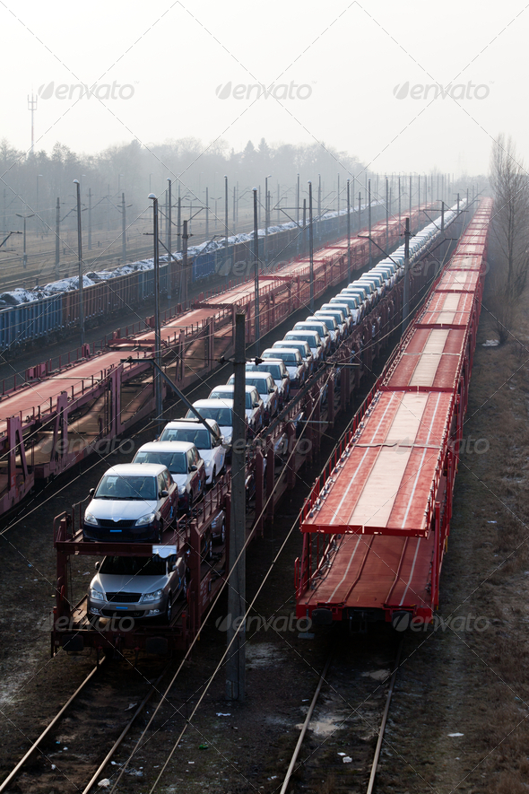 Freight transportation - Stock Photo - Images