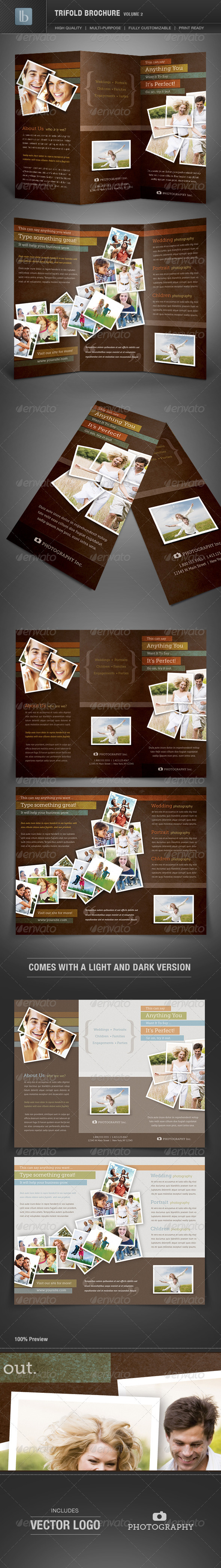 Trifold Brochure | Volume 2 - Corporate Brochures