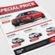 Car Sale Flyer-Graphicriver中文最全的素材分享平台