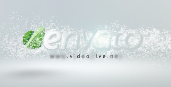 After Effects Project - VideoHive Particle freeze Logo Reveal 1570754