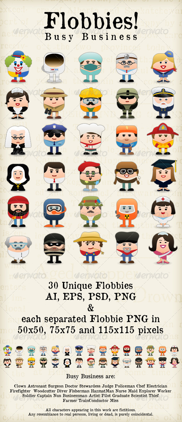 GraphicRiver Flobbies Busy Business 1571733