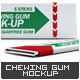 Chewing Gum Mock-Up v.2 口-Graphicriver中文最全的素材分享平台