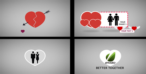 After Effects Project - VideoHive Valentine's Day Animation 1506037