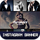 10 Instagram Banners-Graphicriver中文最全的素材分享平台