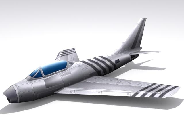 3DOcean F-86 Saber 1574211