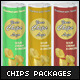 3 Chips packages Mock-up - GraphicRiver Item for Sale