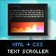 XML + CSS Text Scroller - ActiveDen Item for Sale
