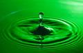 Unique Green Water Drop  - PhotoDune Item for Sale